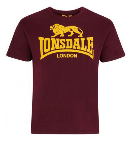 Koszulka Lonsdale London Bordowa
