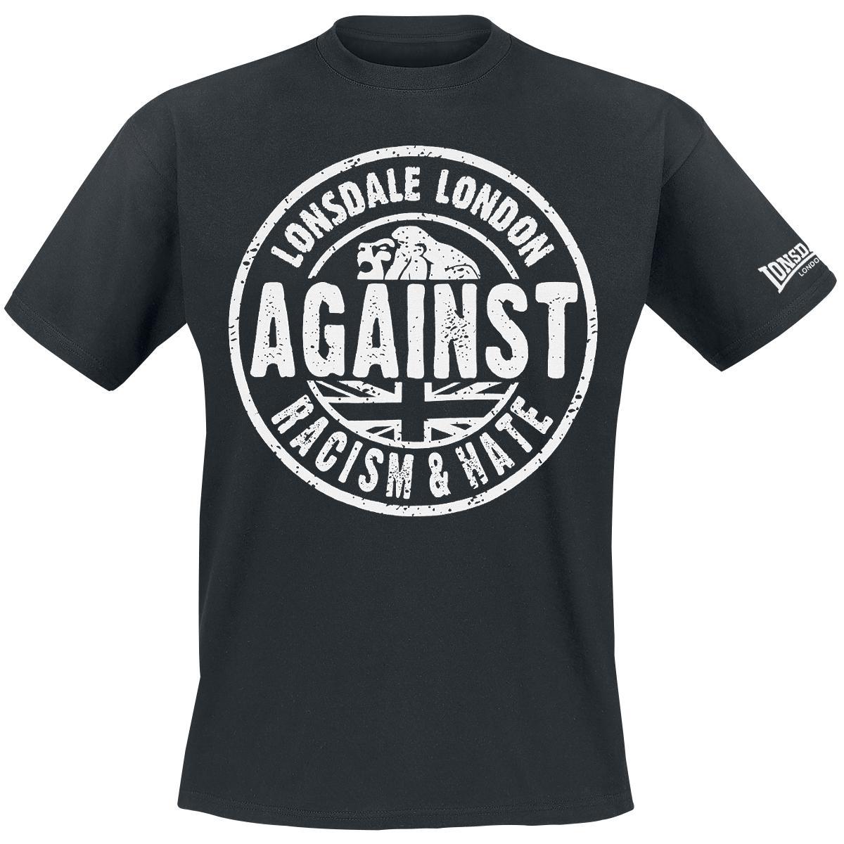 Koszulka Lonsdale przeciwko rasizmowi