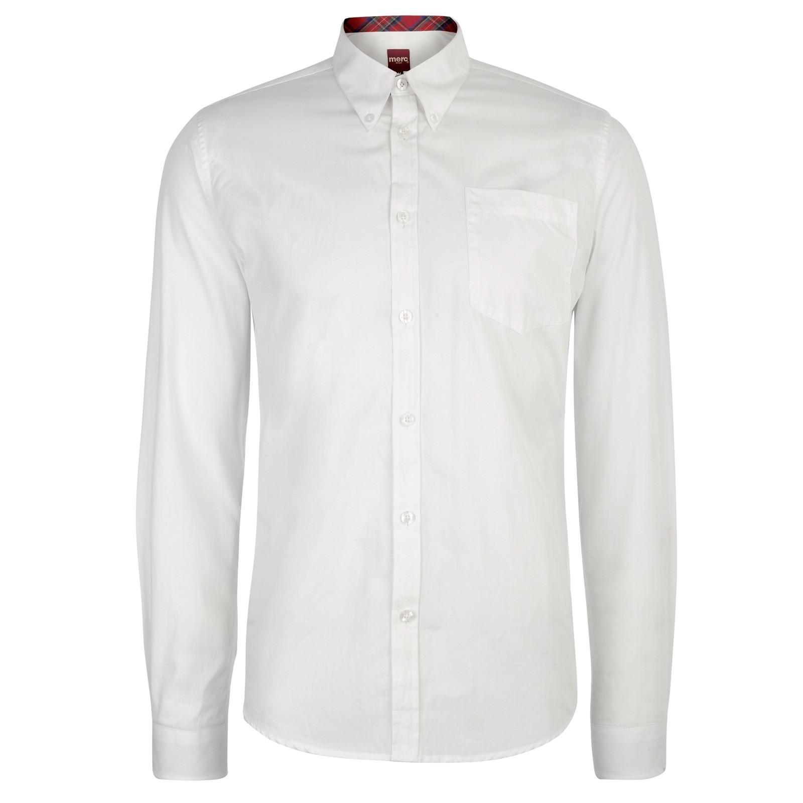 Biała koszula merc London